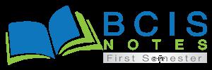 BCIS First Semester