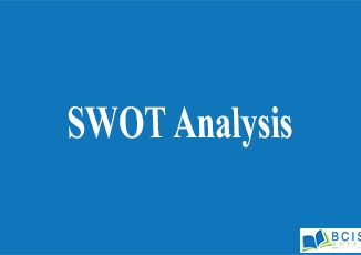SWOT Analysis || Planning and Decision Making || Bcis Notes