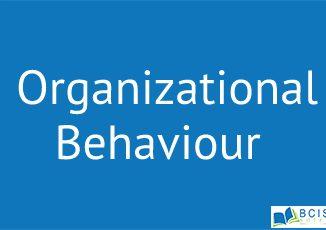 Introduction to Organizational Behavior || Fundamentals of Organizational Behavior