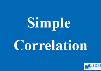 Simple correlation || Data Analysis and Modeling || BCIS NOTES