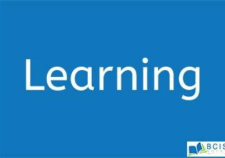 Learning in OB || Perception, Personality and Learning
