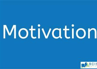 Motivation in OB || Perception, Personality and Learning
