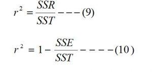 Coefficients of Multiple Determination