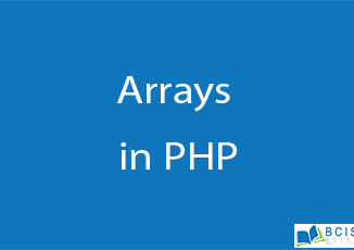Arrays in PHP || Server Side Scripting || BCIS Notes