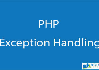 PHP Exception Handling || Server Side Scripting || BCIS Notes