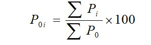 Unweighted Aggregate / Simple Index Number