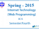 Internet Technology (Web Programming)    Spring, 2015    Pokhara Univesity    BCIS