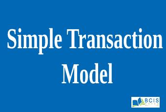 Simple Transaction Model