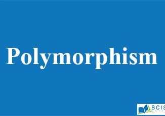 Polymorphism || Inheritance, Interfaces and Packages || Bcis Notes