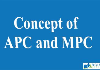 Concept of APC and MPC || Consumption Function and Saving Function || Bcis Notes