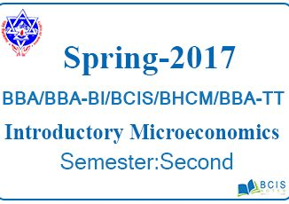 Introductory Macroeconomics Fall 2017